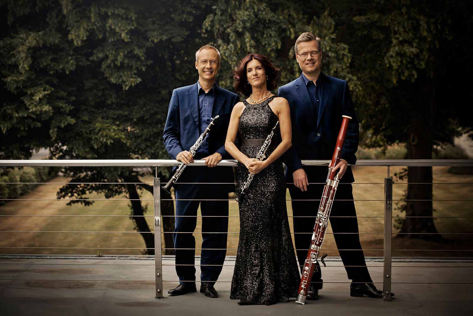 Trio Roseau