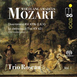 CD Trio Roseau Mozart 1