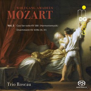 CD Trio Roseau Mozart Vol.2